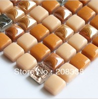 Crystal glass mosaic glass mosaic tile deco mesh glass mosaic kitchen backsplash tiles bathroom glass mosaic tiles