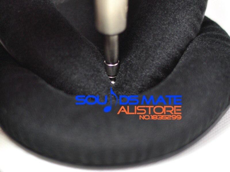 bilder für Starke Weicher Velour Samt Ohrpolster Kissen Für SAMSON SR950 SR850 SR 950 850 Pro Studio Kopfhörer Headset