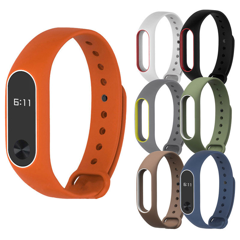 Watch Band Silicon Wrist Strap Replacement WristBand Bracelet For XIAOMI MI Band 2 Correas de reloj 2018 High Quality Watchbands exclamation point свитер