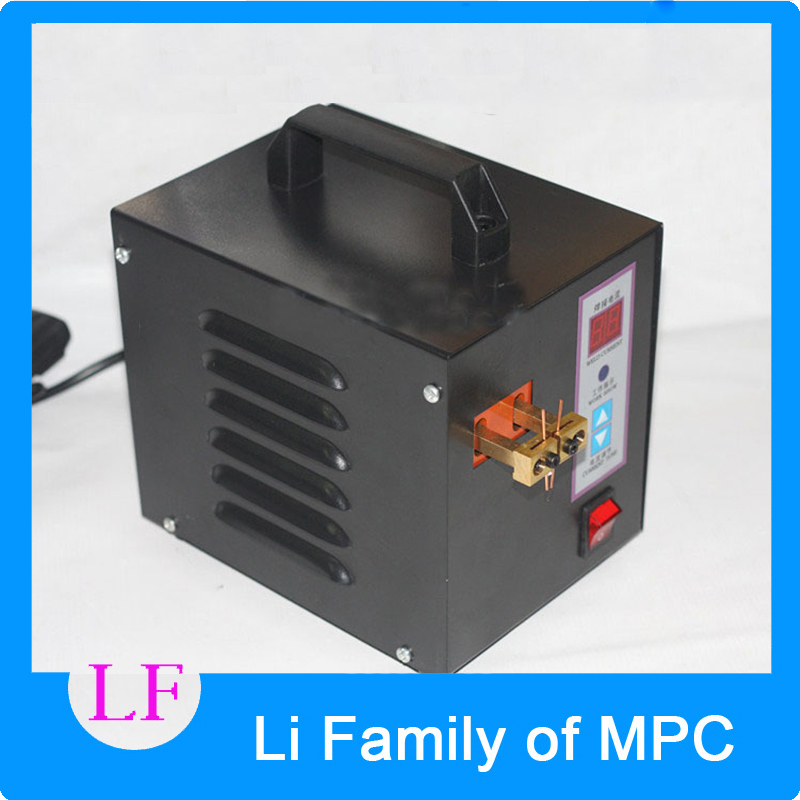 Spot Welder Machine Welding Laptop Battery Button Battery Pack Applicable Notebook and Phone Battery Welding thermocouple spot welding machine tl weld metal ball lotus wire feeder thermocouple welding