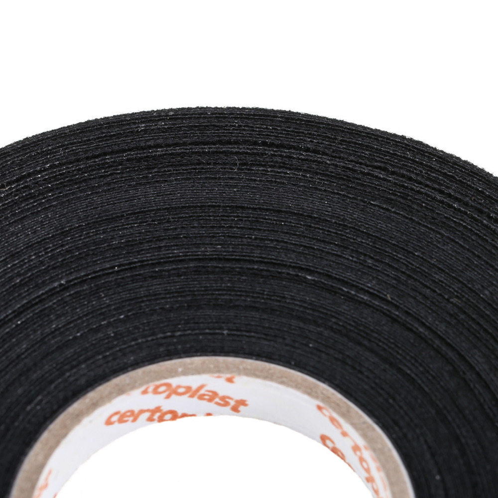Car Fabric Tape Wiring Loom Harness Adhesive Cloth Black Cable For Looms In Sealers From Home