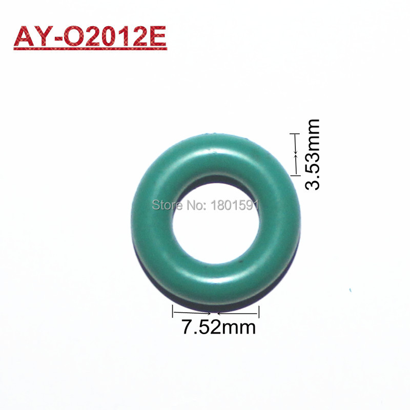 free shipping 1000pieces  Rubber seals viton oring with size 14.58*7.52*3.53MM  fit for fuel injection repair kits (AY-O2012E) rubber seals for fluid and hydraulic systems