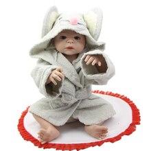 Full Silicone Vinyl Reborn Babies 23Inch Newborn Girl Dolls that Look Real Lifelike Baby Gift For Kids Birthday Xmas