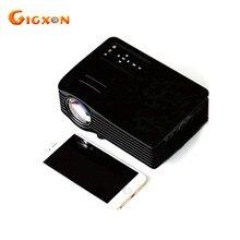 Gigxon-g036 uc36 mini led lcd a todo color de 1080 p Proyector de Cine En Casa HDMI AV VGA USB SD Mini Portátil proyector