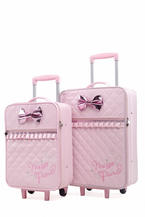 luggage photos Picture - More Detailed Picture about Pink PU ...