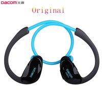 Original Dacom Athlete Bluetooth 4 1 Earphone Wireless Headphone Sports Stereo Headset With Microphone NFC Free