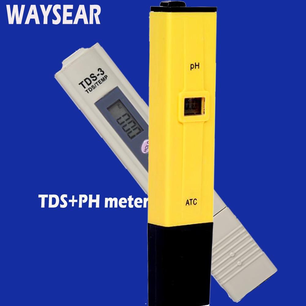 PH TDS meter tester ph water meter aquarium digital ph meter Test Swimming pool aquarium pen Digital Water PH monitor swimming pool ph cl2 spa water tester 1 aa