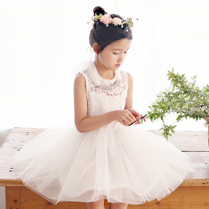 2-10 years High Quality Girl Dresses Children Clothing Anna Elsa Ball Gown Princess dress Kid's Party Dress Baby Girls Clothes