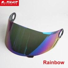Viso shield per LS2 FF396 pieno Viso moto casco Multicolore esterno della visiera di sun lens per LS2 FF396 casco da moto