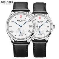 Agelocer Бренд роскошные механические часы мужской женский любителей часы для женщин для мужчин часы час платье браслет часы Relogio Masculino