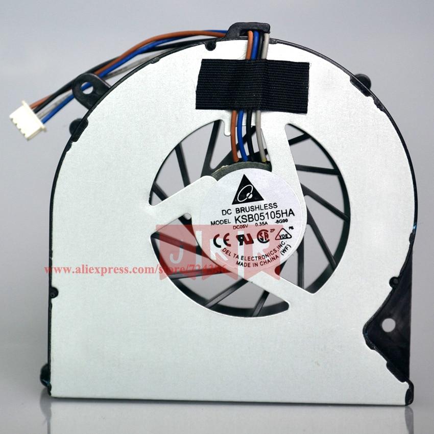 Original New CPU Cooler Fan Fit For HP 4530S 4535S 4730S 6460B EliteBook 8450P 8460P DELTA KSB0505HB KSB05105HA 4 Pin good quality 4530s laptop fan for hp probook 4535s 4730s cpu cooling fan new original 8460p 6460b laptop cpu cooling fan cooler