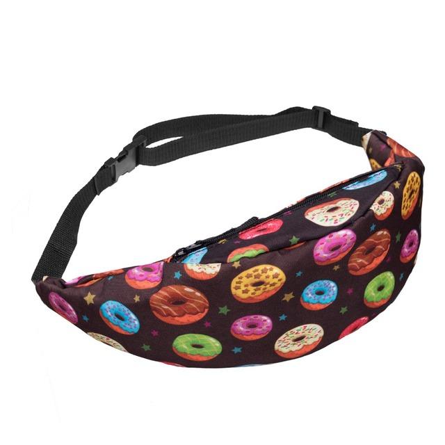 Waist Bag Multi-functional Sport Pockets Sports BeltPacks Harajuku Fanny Packs