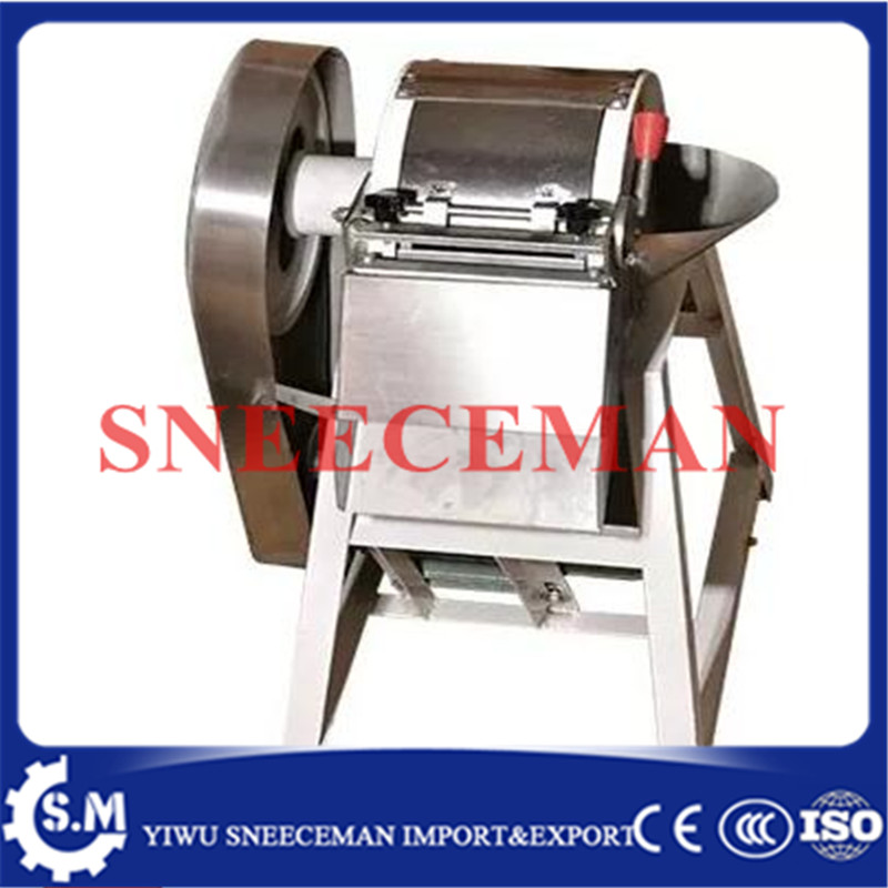 250-500KG/H multi-function cutting machine electric commercial Slicing machine sliced shredded radish potato and potato shreds