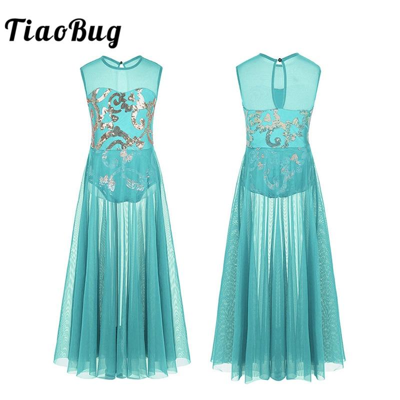 tiaobug-kids-teens-shiny-floral-sequins-font-b-ballet-b-font-tutu-mesh-dress-gymnastics-dance-leotard-girls-stage-party-lyrical-dance-costumes