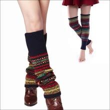 Новинка 2017 года Зима Термальность кашемир Чулки для женщин Для женщин более гетры шерсть красочные Для женщин трикотажные Носки утепленные для девочек теплые носки