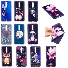 ФОТО taoyunxi case for nokia 6 5 8 3 2 1 covers fundas relief painting flower back cover soft silicone tpu butterfly phone cases