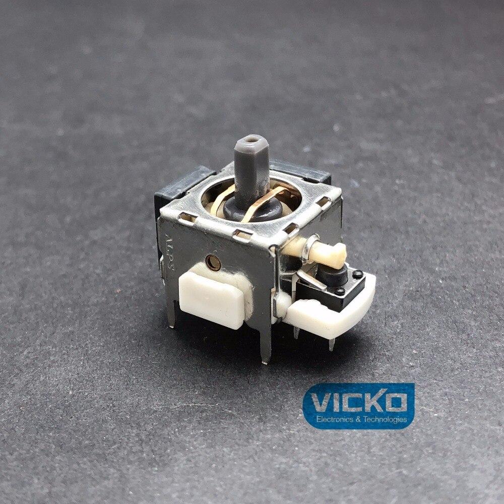 Alpes potentiomètre à bascule 3D RKJXP1224002 Module de capteur de bâton analogique B10K remplacement pour commutateur de contrôleur XBOX360 + chapeau