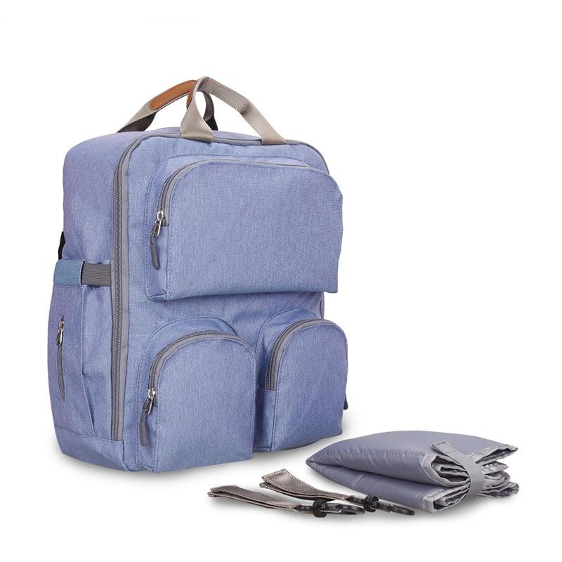 Multifunction Portable Baby Diaper Bag Suitcase Large Capacity Backpack Mummy Maternity Travel Stroller Nappy Nursing Organizer цена 2017