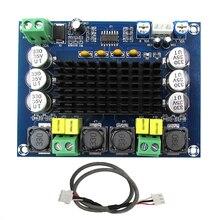 TPA3116D2 высокомощный цифровой усилитель модуль двухканальный Amplificador 2*120 Вт доска усилитель звука аудио для динамиков стерео