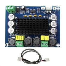Módulo de amplificadores digitales de alta potencia TPA3116D2 Amplificador de doble canal 2*120W Amplificador de sonido para altavoces estéreo