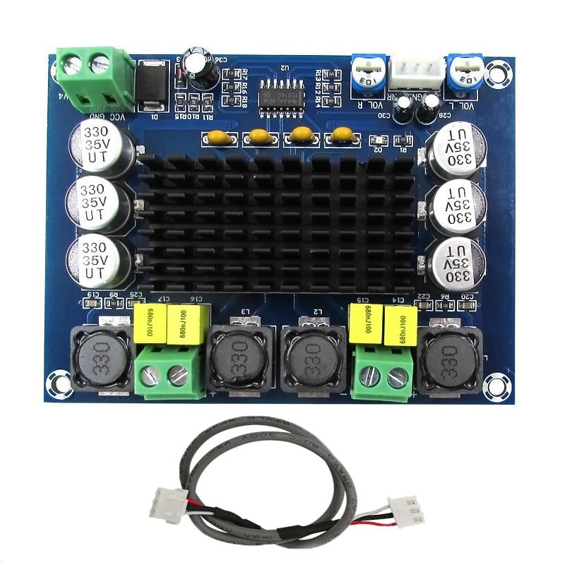 TPA3116D2 High Power Digital Verstärker Modul Dual-Kanal Amplificador 2*120 W Bord Sound Verstärker Audio für Lautsprecher stereo