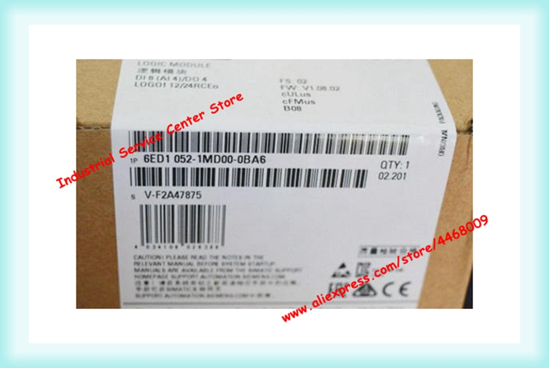 LOGO 12/24RC 6ED1 052 6ED1052-1MD00-0BA6 nuovo originale PLC moduloLOGO 12/24RC 6ED1 052 6ED1052-1MD00-0BA6 nuovo originale PLC modulo