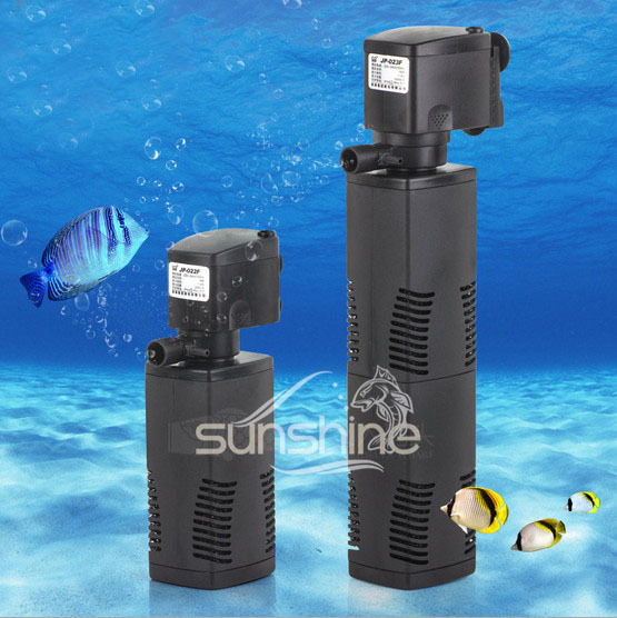 Free shipping ultra quiet aquarium filter fish tank oxygen for Quiet fish tank filter