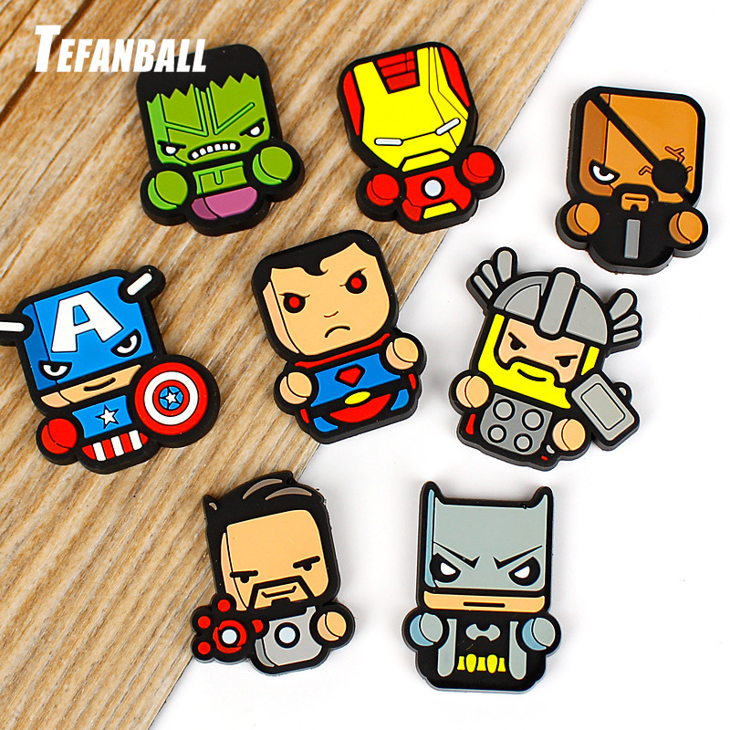 2Pcs/Set Cartoon Air Freshener Styling perfumes The Avengers Marvel Style Star Wars Iron Man Auto Air Condition Vent Outlet Clip-in Air Freshener from Automobiles & Motorcycles
