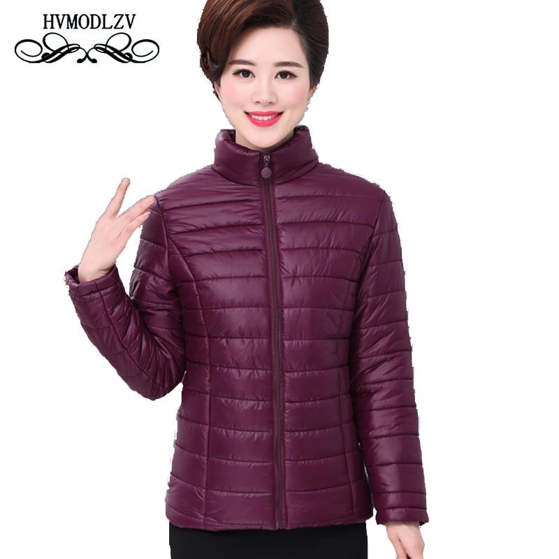 Plus size jassen dames 2017 mode dames katoenen jas dames zwart rood - Dameskleding