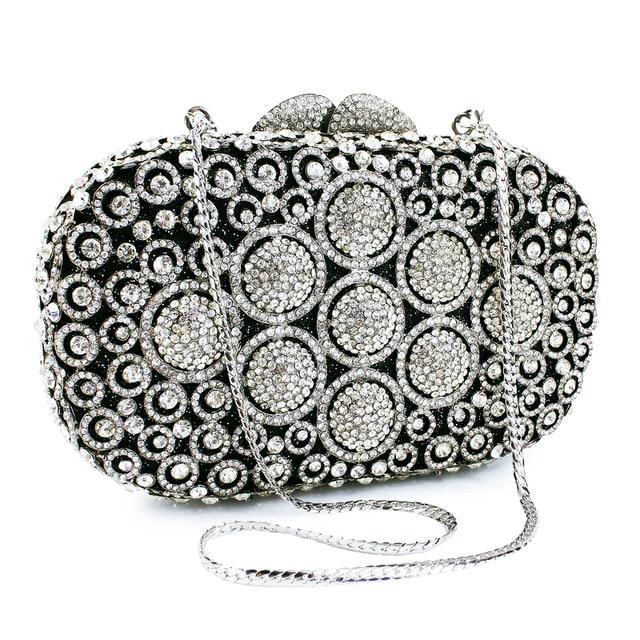 newest beautiful rhinestone black clutch bag latest design ladies rh aliexpress com the new beautiful