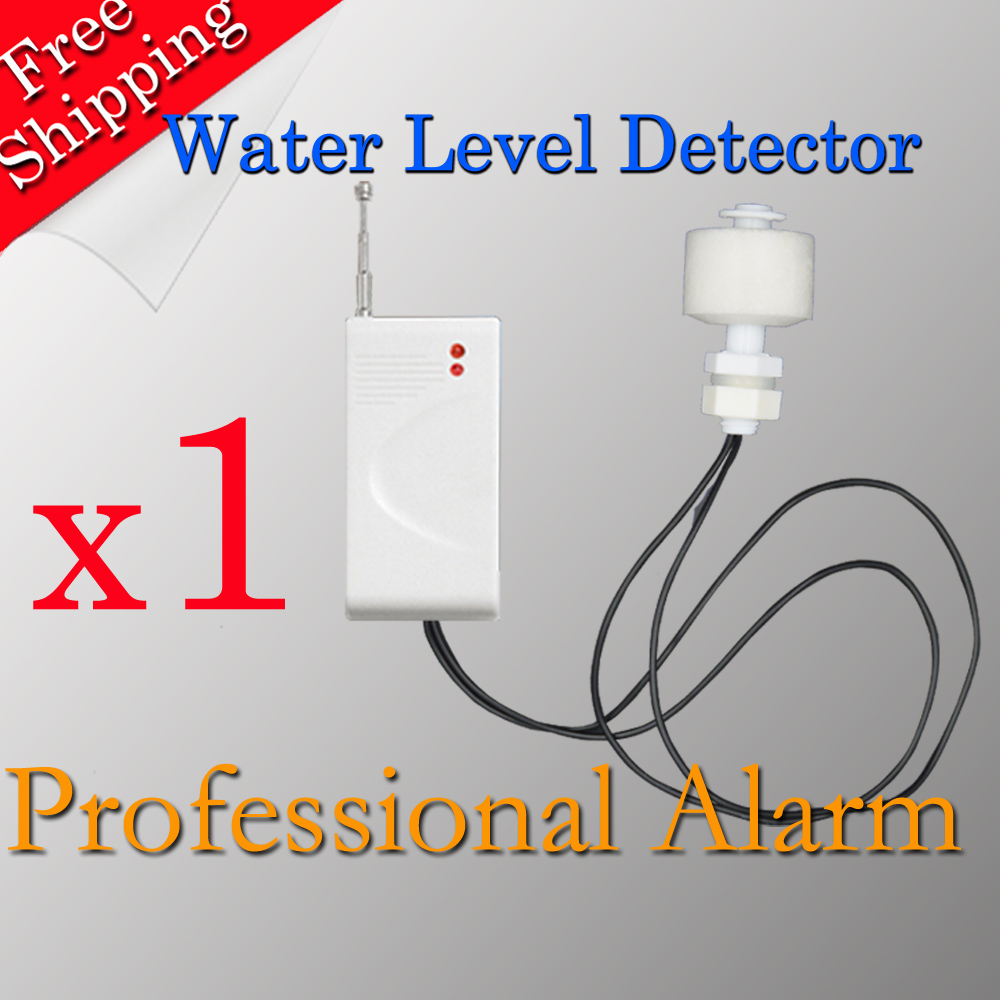 Free Shipping Hot Selling Water Level Water Sensor For GSM Alarm System All For your Home Security 433MHz free shipping dc12v 433mhz metal