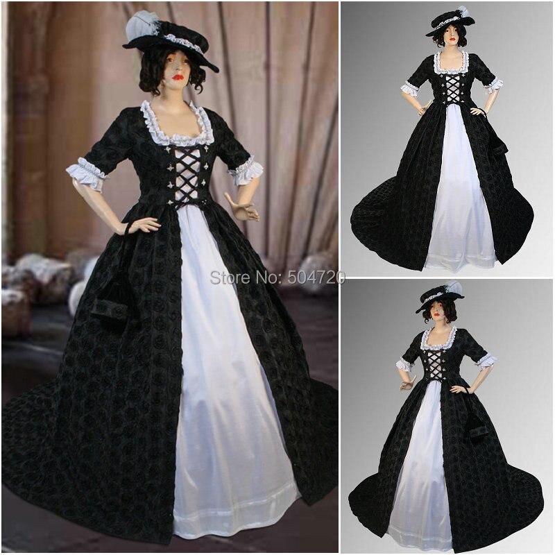 Custom madeR 780, винтажные костюмы, 1860 s, гражданская война, Южное бальное свадебное платье/готическое платье лолиты, викторианские платья