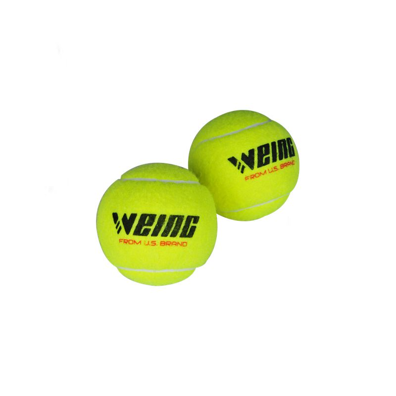 WEING Quality Tennis Training 100% Synthetic Fiber Rubber Professional Competition Standard Ball Sales, Excellent Quality, Price