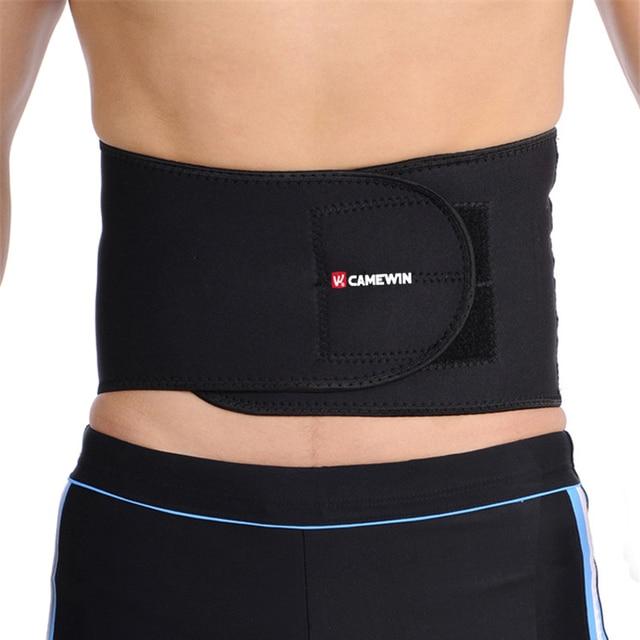 Adjustable Slimming Exercise Belt Men Women Shed Water Weight Back Brace Waist Support Plus Size Elasticity Bodybuild Belt