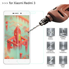 2.5D 0.26mm 9H Premium Tempered Glass For Xiaomi 4c 4s Redmi 2 3 4 Pro  4X 4A note 2 3 4 4X 5A Screen Protector Toughened