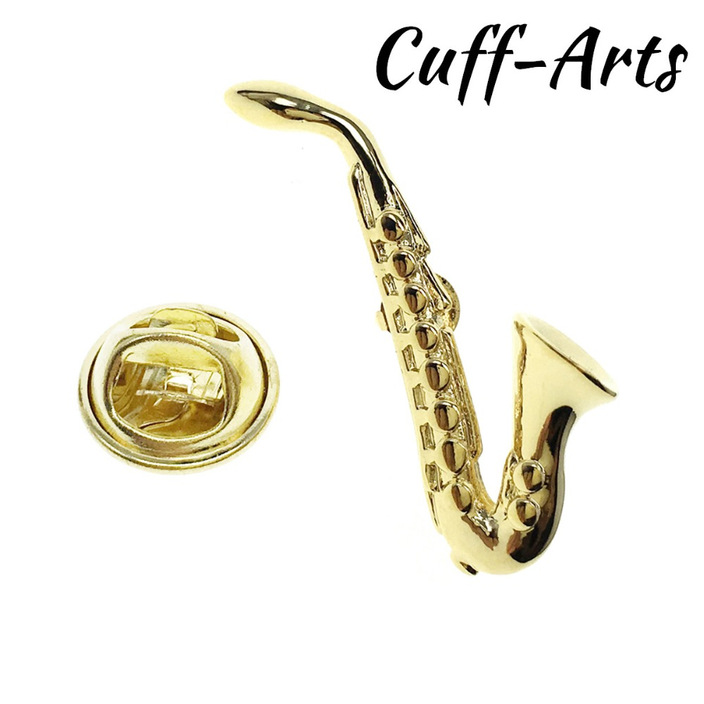 Lapel Pin For Men Gold Saxophone Lapel Pin Pride Brooch Hijab Pins Enamel Pin Broche Pusheen by Cuffarts P10227 in Brooches from Jewelry Accessories