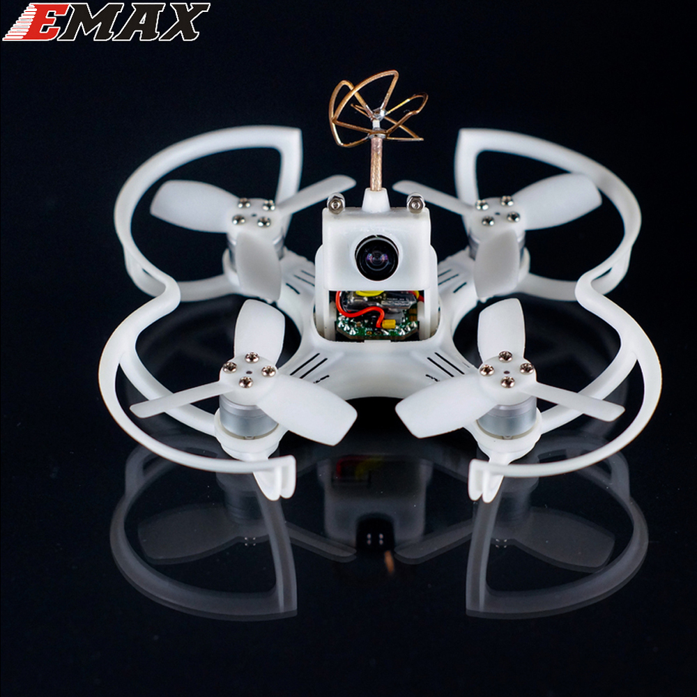 1set Original EMAX Babyhawk 87mm Micro Brushless FPV Racing Drone-PNP VERSION WHITE