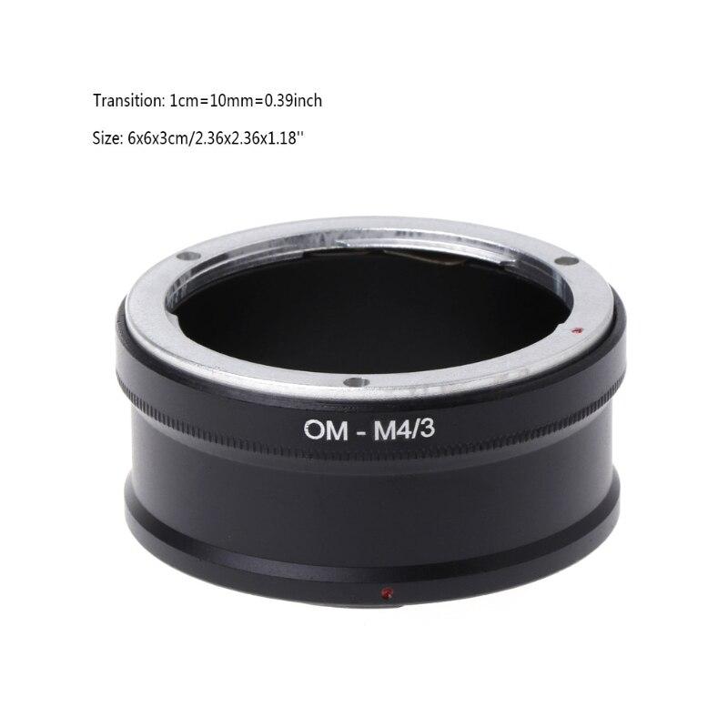 OM-M4/3 Mount Adapter Ring For Olympus OM Lens to E-P1 E-P2 E-P3 Panasonic G1 G2