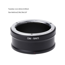 OM-M4/3 Mount Adapter Ring For Olympus OM Lens to E-P1 E-P2 E-P3 Panasonic G1 G2