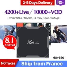 français TV 4G belgique