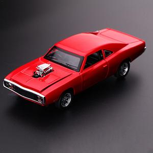 Image 5 - Charger Diecast Metal Model Car Sound And Light Pull back Vehicle Toy Back To The Future Red Bull Racing