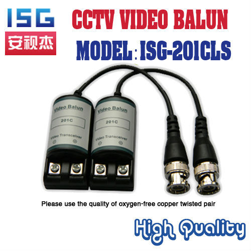 ISG-201CLS  passive video balun,Good inductance Used for the transmission of video signals Free Shipping