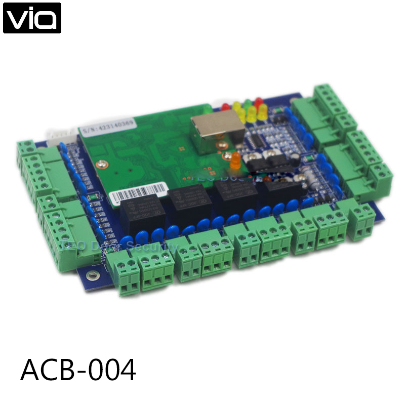 ACB-004  Free Shipping Security Webstandalone and TCP/IP access control board esac61 004 c61 004