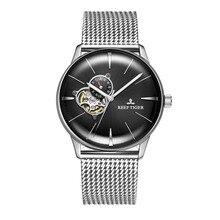 Reef Tiger/RT 2019 Роскошные дизайнерские часы автоматические механические часы для мужчин Стальной браслет часы водонепроницаемые Relogio RGA8239