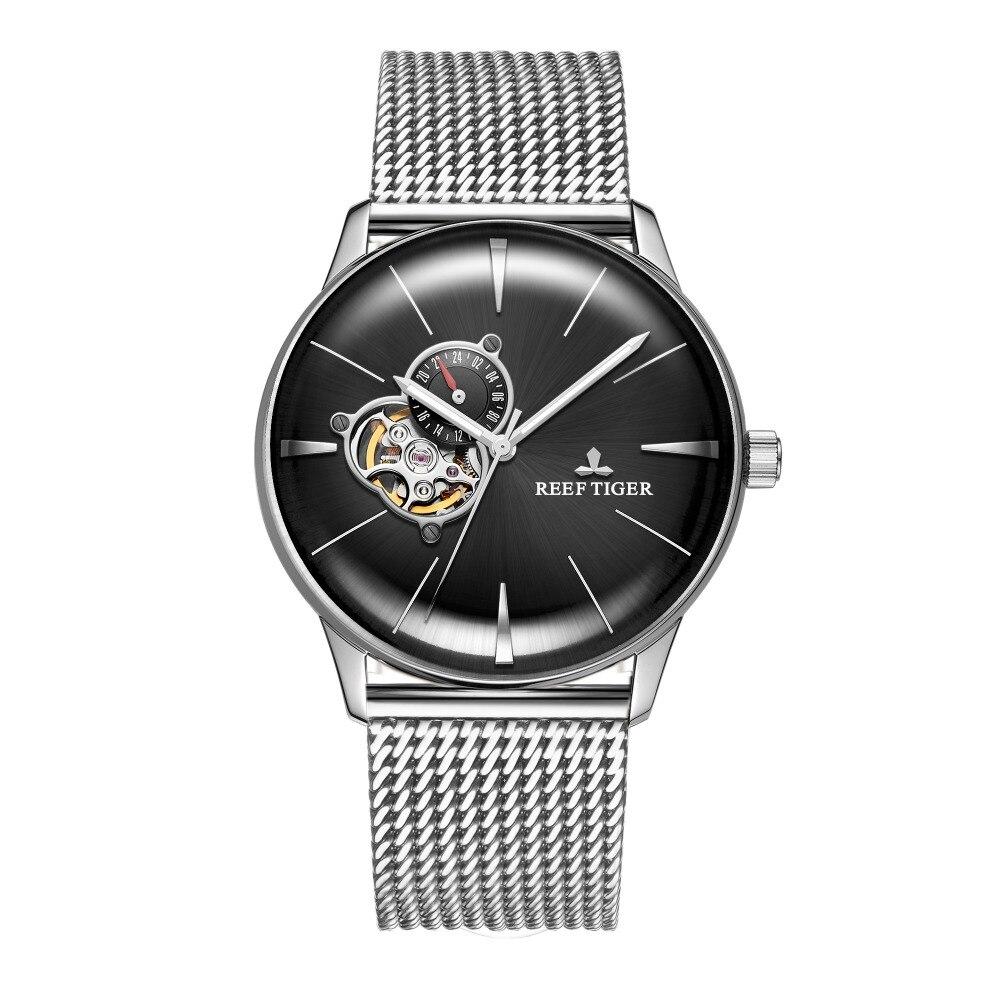 Reef Tiger/RT 2019 Luxury Designer นาฬิกาอัตโนมัติผู้ชายนาฬิกาสแตนเลสนาฬิกากันน้ำ Relogio RGA8239-ใน นาฬิกาข้อมือกลไก จาก นาฬิกาข้อมือ บน AliExpress - 11.11_สิบเอ็ด สิบเอ็ดวันคนโสด 1