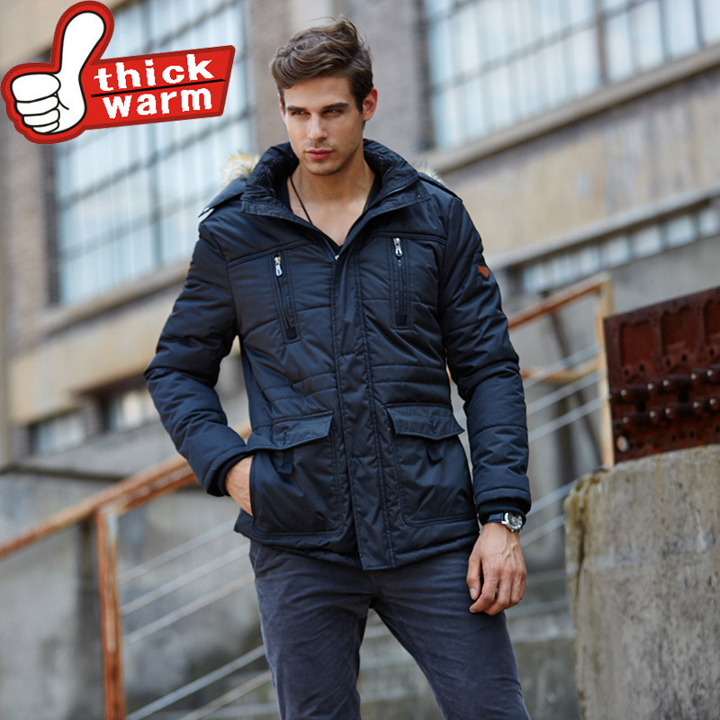 Подробнее о Winter Men Parkas casual Jackets Man Hooded windproof Thick Warm Outwear Overcoat Wadded Coat brand clothing winter men parkas casual jackets man hooded windproof thick warm outwear overcoat wadded coat brand clothing large size