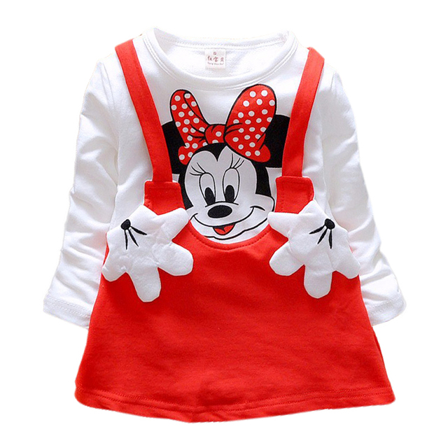Cute Minnie Baby Girls Dress