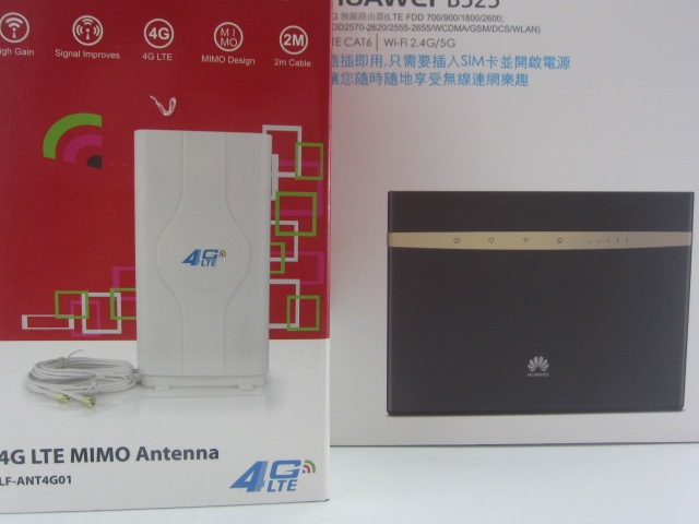 Huawei B525s-65a 4G LTE Cat6 Wireless Router plus 4g antenna