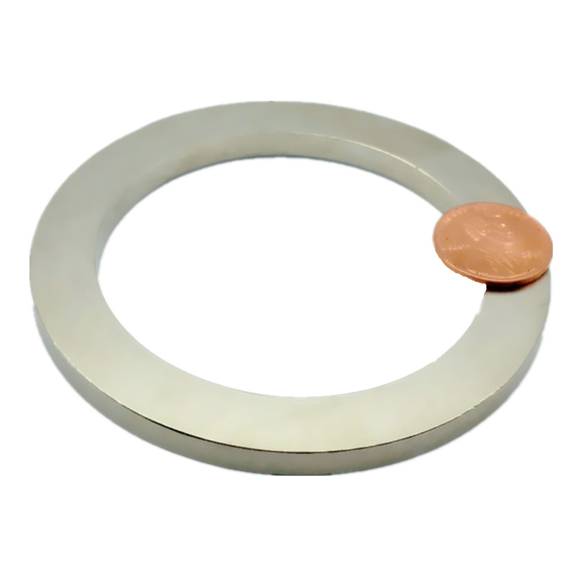 NdFeB Magnet Ring Diameter 50 60 70 80mm Large Magnetic Ring Axially Magnetized Strong Neodymium Permanent Rare Earth Magnets 1 pack grade n38 ndfeb micro ring diameter od 9 5x4x0 95 mm 0 37 strong axially magnetized nicuni coated rare earth magnet