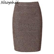 Neophil, роскошные винтажные женские бандажные сексуальные офисные мини-юбки-карандаш золотого цвета, зимние женские Сексуальные вечерние короткие Клубные юбки Saia S0324